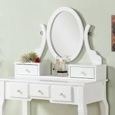 incredible ashley wood makeup vanity table and stool set free shipping ashley furniture vanity prepare