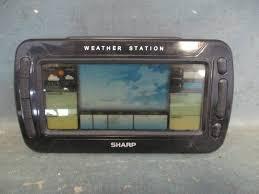 sharp weather station. weather station alarm clock sharp