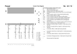 passat b5 3b6 convenience wiring diagram 14 passat current flow diagram