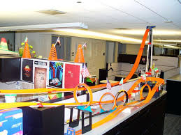 Office bay decoration themes Monsoon Theme Bay Desk Decoration Competition Cubicle Decor Contest Idea Chernomorie Desk Decoration Competition Office Decoration Themes Office Bay