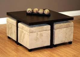 ottoman coffee table storage coffee table with stools underneath coffee tables stools coffee and living rooms ottoman coffee table storage