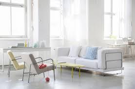 scandinavian home decor with modern sofas with metal frame design