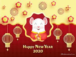 Ảnh con chuột may mắn tài lộc đón năm mới 2020