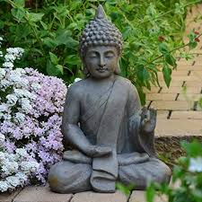 garden buddha statues. Garden Buddha Statue 54cm Decor Statues