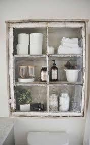 Vintage window shelf
