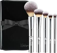 it brushes by ulta your beautiful basics airbrush 101 5 pc getting started brush set includes