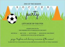Soccer Party Invite Cones And Flags Soccer Party Invitation