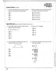 Go Math Chapter 1 Practice Book   Mr. Monteleone's 5th Grade Class