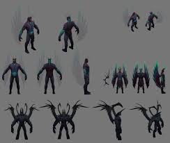 dota 2 hero concept sheets polycount