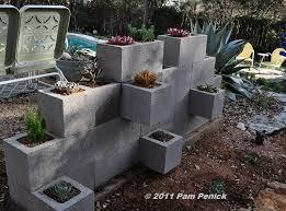 cinder block garden wall. Make A Cinderblock Wall Planter Cinder Block Garden U