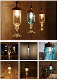 ball mason jar chandelier lamp ball mason jar chandelier lamp wineglass clear pendant light table light lighting light lamp desk table mason canister