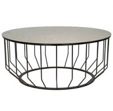 ... Coffee Table, Round Metal Coffee Table Legs An Unexpected Pairing Of  Brilliant Antiqued Glass And ...
