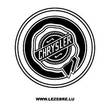 Sticker Chrysler Logo 3
