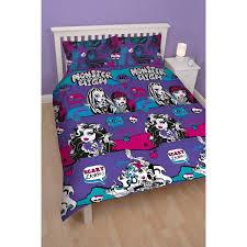 novelty bedding minnie mouse cafe double duvet cover set mattel monster high