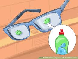 image titled clean eyeglasses with anti glare lenses step 3