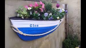 fibreglass boat planters