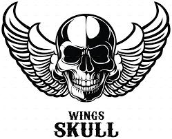 Design Skull T Shirt Wings Skull T Shirt Design