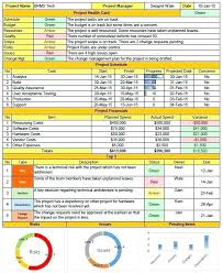 Project Status Report Template Excel Download Filetype Xls To