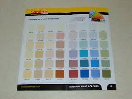 Snowcem Colour Chart 3 Tubs Masonry Paint 14 10 Picclick Uk