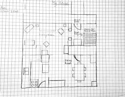Graph Paper House Plans Home Design And Style House Plans Drawing