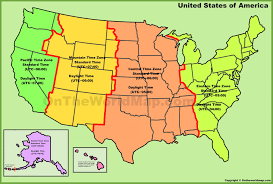Printable Us Time Zone Maps Climatejourney Org