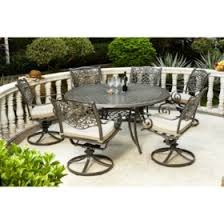 round outdoor dining sets. Agio Rochester 7pc Round Dining Set Round Outdoor Dining Sets ,