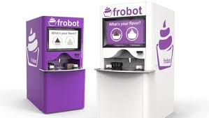 Yogurt Vending Machine Inspiration 48ers Add Frozen Yogurt Robots To Levi's Stadium 48up