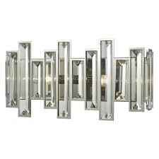 Oil Rubbed Bronze Crystal Vanity Light Elk Lighting 330 Crystal 2 Light Bathroom Vanity Light Oil