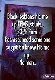 Black lesbians fat ass