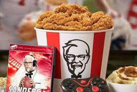 kfc fried chicken bucket. Plain Fried KFC Fried Chicken Bucket In Kfc Bucket A