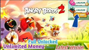 Angry Birds 2-Offline Mod apk Unlimited money Full unlocked Latest version