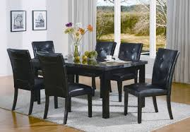 7 piece black dining room set. 100 Black And White Dining Room Sets Marble Top Within Set 7 Piece C