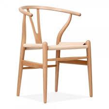 wegner style chair. Wonderful Style Hans J Wegner Style Wishbone Chair  Natural With Style G
