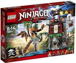 LEGO Ninjago Schwarze Witwen-Insel (70604) günstig kaufen