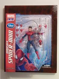 marvel select unmasked spiderman