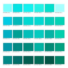 Teal Color Chart Myolympusriviera Co
