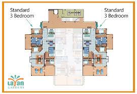apartment 3 bedroom. standard apartments @ layan gardens phuket apartment 3 bedroom