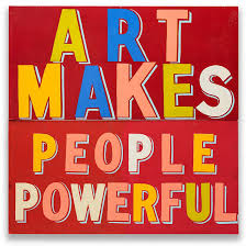 "Art as a human right and why creativity is ""pushed out of"" London: we meet  Bob and Roberta Smith"