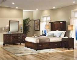 Pretty Paint Colors For Bedrooms Interior Bedroom Wonderful White Dark Brown Wood Glass Unique