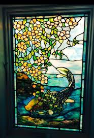 nauticalwindows nautical nauticalstainedglass fish fishstainedglass hamptons hamptonshome montauk we created this beautiful stained glass window