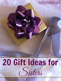 this is a great gift guide for sisters i love ing presents for my sisters