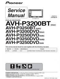 pioneer avh and avh p3200dvd wiring diagram wordoflife me Pioneer Deh 3200ub Wiring Diagram wiring diagram pioneer avh p3200bt the with avh p3200dvd Pioneer Deh 3200UB Manual