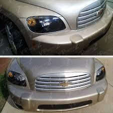 2006-2011 Chevy HHR LS LT 2LT SS Black LEFT+RIGHT Headlights ...