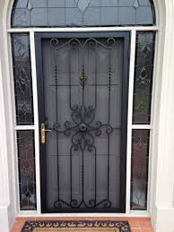 decorative security screen doors. Gate And Fence : Steel Storm Doors Decorative Security Screen R