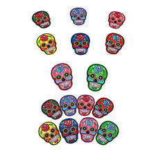 <b>Embroidered</b> Skeletons & <b>Skulls</b> Sew - On Sewing <b>Patches for sale</b> ...