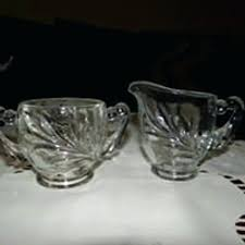 glass sugar bowl image 0 depression glass sugar bowl with lid
