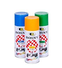 Bosny Spray Paint Color Chart Bosny Aerosol Spray Paint Buy Aerosol Paint Product On Alibaba Com