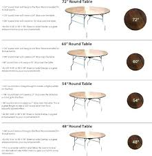 5 foot round table inch cloths for tables ft runner is how many inches seat