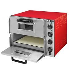 bakery equipment electric pizza oven stone based single deck manufacturer from kolkata