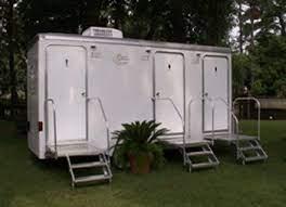 Mobile Restroom Three Stall Mobile Royal Restrooms